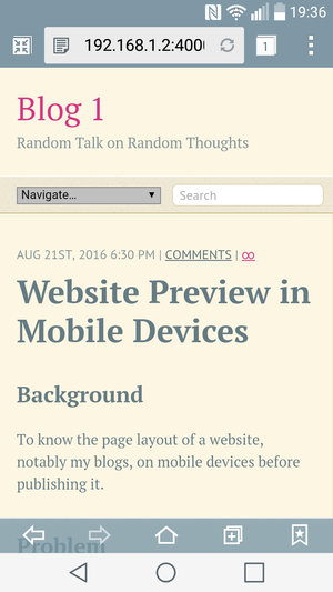 Preview this blog on a smartphone