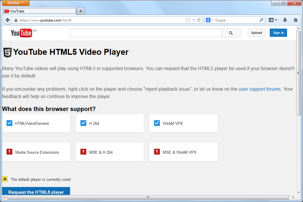 Play Youtube Videos on Old Version Firefox - Blog 1